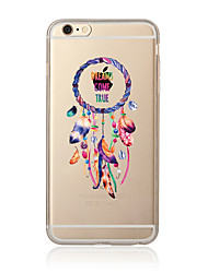 Etui til iphone 7 7 plus dream catcher mønster tpu soft back cover tegneserie til iphone 6 plus 6s plus iphone 5 se 5s 5c 4s
