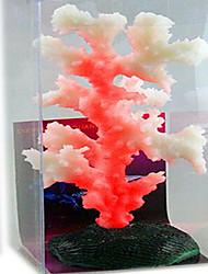 baratos -Aquário Decoração Mini Aquários Coral Ornamentos Luminoso Artificial Atóxico & Sem Sabor Fofo Resina