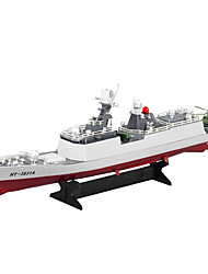 High Quality HT-3831A Electric Remote Control Simulation of Military High Speed Ship Four Channel Model Frigate Model