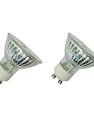 cheap -3W GU10 LED Spotlight MR16 60 SMD 3528 280-320 lm Warm White White 3000-3500/6000-6500 K V