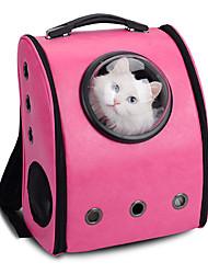 preiswerte -Katze Hund Transportbehälter &Rucksäcke Astronaut Kapselträger Haustiere Träger Tragbar Atmungsaktiv Solide Gelb Kaffee Rose Rosa