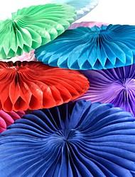 Недорогие -Уникальный декор для свадьбы 100%  целлюлоза из первичного сырья / Смешанные материалы Свадебные украшения Свадебные прием Классика Все сезоны