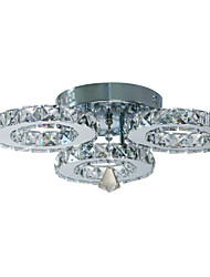 cheap -Flush Mount Ambient Light - Crystal, 90-240V, Warm White / White, LED Light Source Included / 20-30㎡ / LED Integrated