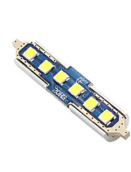 cheap -4X-NEW-2017-Festoon-42MM-6-SMD-3030-CNABUS-White-LED-Car-Dome-Light-lamp-Bulbs-3021-6428-DE3175 12v-24v