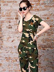 Per donna T-shirt da escursione Set di vestiti per Estate S M L XL XXL