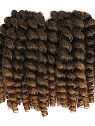 cheap -Braiding Hair Classic Pre-loop Crochet Braids / Hair Accessory / Human Hair Extensions 20 roots / pack Hair Braids Jamaican Bounce Hair Daily