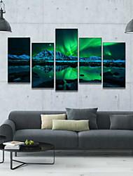 cheap -Print Art Print - Landscape Modern Five Panels
