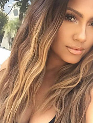 cheap -Ombre T1B/4/27 Brazilian Virgin Hair Glueless Lace Wigs Body Wave Full Lace Human Hair Wigs Virgin Remy Hair Wig with Baby Hair