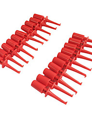 cheap -Plastic Multimeter Test Hook Clip Grabbers for PCB SMD IC (20PCS)