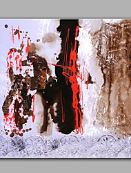 Pintada a mano AbstractoModerno Un Panel Pintura al óleo pintada a colgar For Decoración hogareña