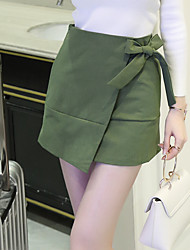 Sign in early spring 2017 new bow skirts Korean version was thin package hip skirt skirt wild student