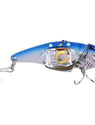 Fishing Attracting Lamp Treble Hook LED Fish Lure Light Underwater Deep Drop Flashing Light Lure