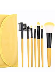 economico -Pennello per cipria Pennello per ombretto Pennello applicatore per eyeliner Pennello per ciglia Pennello per polveri Applicatore a
