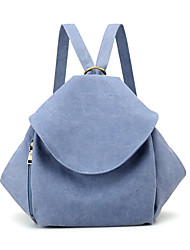 cheap -Women's Bags Canvas Backpack Zipper for Casual Spring All Seasons Black LightBlue Beige Dark Blue Gray