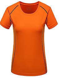 Per uomo T-shirt da corsa Manica corta Asciugatura rapida per Yoga Cicismo su strada Esercizi di fitness Corsa Taglia piccola M L XL