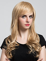 Parrucche dei capelli umani lunghi capelli ricci lunghi di pesce