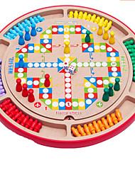 Недорогие -Шахматы Игрушки Игрушки Круглый Куски Не указано Подарок