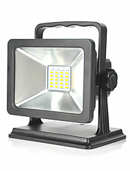 cheap -1pc 15 W LED Floodlight Waterproof / Creative / Dimmable Warm White / Cold White / Red 100-240 V Outdoor Lighting