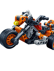 cheap -Building Blocks Pull Back Vehicles Toy Cars Race Car Toys Motorcycle Unisex Pieces