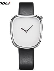 baratos -SINOBI Homens Quartzo Relógio de Pulso Chinês Impermeável Resistente ao Choque PU Banda Amuleto Vintage Criativo Casual Relógio Elegante