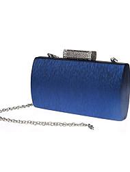 preiswerte -Damen Taschen PVC Polyester Abendtasche Knöpfe für Veranstaltung / Fest Ganzjährig Blau Gold Schwarz Silber Rote