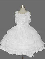 cheap -Sweet Lolita Dress Princess Women's Girls' JSK / Jumper Skirt Cosplay Cap Sleeveless Short / Mini