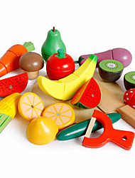 cheap -Toy Food / Play Food Magnetic Fruit & Vegetable Cutters Fruits & Vegetables Children's Gift