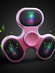 cheap -Outdoor Fidget Spinner Speaker LED Bluetooth Speaker Spinner Support TF Card