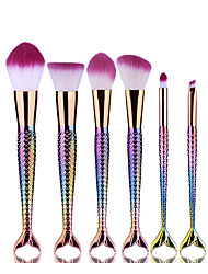 cheap -6pcs Professional Makeup Brushes Makeup Brush Set / Contour Brush / Foundation Brush Nonwoven Fabric / Synthetic Hair Lip