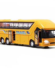 abordables -Petites Voiture Véhicules à Friction Arrière Bus Bus Classique Simulation Classique Unisexe Garçon Fille Jouet Cadeau