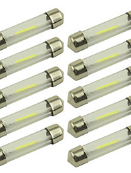 cheap -10pcs Car Light Bulbs 1W COB 100lm LED Light Bulbs Working Light