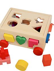 baratos -Blocos de Construir Jogos de Madeira Clássico Legal Para Meninos Dom