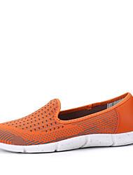 Недорогие -Жен. Повседневная обувь Полиуретан Нейлон, стекловолокно, воздушное отверстие,противоскользящие протекторы Нейлон Полиэстер Оранжевый / Противозаносный / Амортизация / Вентиляция