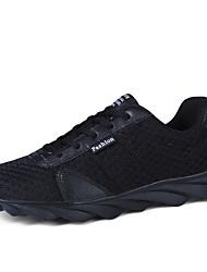 Men's Shoes Athletic Fabric Fashion Sneakers Black / Grey / Orange / Green