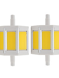 4W LED Spotlight Tube 3 COB 360 lm Warm White Cold White K AC85-265 V