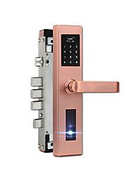 Verrouillage de l'empreinte digitale à domicile verrouillage du mot de passe électronique avec wifi gateway téléphone déverrouillage de