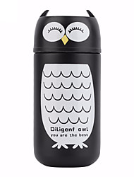 220ml Portable Cute Owl Cup Stainless Steel Winter Vacuum Flask Cup Thermo Mug Hot Water Termos Bottles