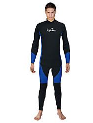 economico -Per uomo 3mm Muta intera Fitness, Running & Yoga Terital Scafandro Manica lunga Scafandri-Immersioni Sport acquatici Primavera/Autunno