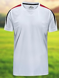 Homens Camiseta de Trilha Secagem Rápida Respirável Camiseta Blusas para Acampar e Caminhar Verão M L XL XXL XXXL