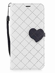 cheap -Case For Huawei P9 Lite / Huawei Wallet / Card Holder / with Stand Full Body Cases Lines / Waves / Heart Hard PU Leather for P10 Lite / P10 / Huawei P9 Lite