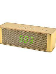 cheap -JY28C NFC Portable Wireless Bluetooth Speaker with Microphone FM Radio Clock HD Audio Handsfree Music Sound Box for iPhone Computer