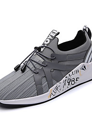 cheap -Men's Shoes Breathable Mesh Spring Summer Comfort Athletic Shoes Running Shoes Gore for Athletic Casual Outdoor Black Gray Blue