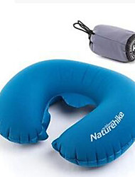 Neck Pillow Portable Foldable Elastic Travel Rest Inflated Air Pressure Traveling Outdoor For Office