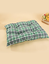 Bed Pet Mats & Pads Plaid/Check Red Green Blue