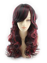 cheap -Synthetic Hair Wigs Wavy Capless Cosplay Wig Medium Long