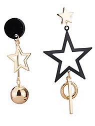 Drop Earrings Women's Girls' Tassel Star Boll Movie Jewelry Euramerican Fashion Personalized Party Dailywear Statement Gift Jewelry