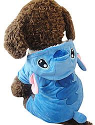 Dog Costume Dog Clothes Cosplay Animal Blue