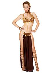 economico -Fiabe Costumi antico Egitto Queen Dea Gonna Costumi Cosplay Stile Carnevale di Venezia Vestito da Serata Elegante Accessori Halloween