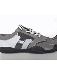Недорогие -Беговые кроссовки Кроссовки для ходьбы Муж. Повседневная Спортивный Для спорта и активного отдыха Практика Кожа Бег На открытом воздухе
