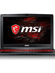 Msi gaming laptop 15.6 pollici intel i5-7300hq 8gb ddr4 1tb hdd windows10 gtx1050ti 4gb gl62m tastiera retroilluminata 7rex-1642cn